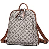 Backpack Purses for Women Angelkiss Ladies Fashion PU Leather Backpack Anti Theft Shoulder Handbags