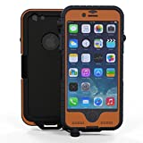 Snow Lizard Products SLTough Case for iPhone 6, Signal Orange