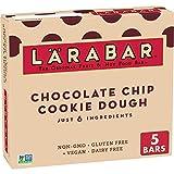 Larabar Chocolate Chip Cookie Dough, Gluten Free Vegan Fruit & Nut Bar, 1.6 oz Bars, 5 Ct