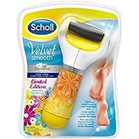 Scholl Velvet Smooth Express - Dispositivo de pedicura, eléctrico, con partículas de diamante