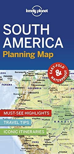Lonely Planet South America Planning Map (Planning Maps)