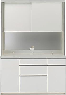 パモウナ 食器棚WL パールホワイト 幅140×高さ198×奥行45 日本製 WLA-S1400R