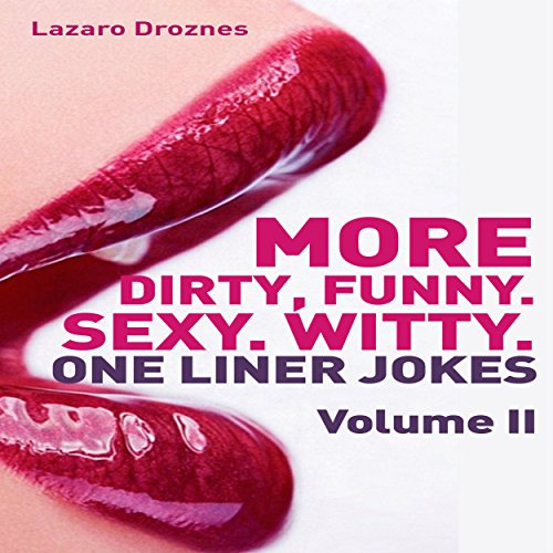 More Dirty, Funny, Sexy, Witty One Liner Jokes audiobook cover art
