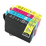 Teng® - Cartuchos de tinta de repuesto para Epson 502XL, Epson Expression Home XP-5105 XP-5100,...