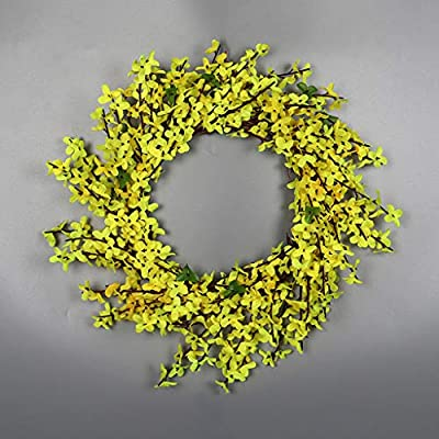 Easter Decorations, Artificial Flower Leaf Wreath Wall Window Door Hanging Home Wedding Decoration,Home Decoration Sales!!!