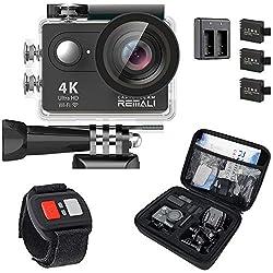 REMALI CaptureCam 4K Ultra HD Waterproof Camera