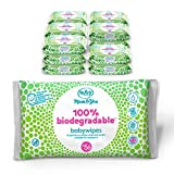 Mum & You 100% Biologisch Abbaubare Feuchttücher für Babys, Packung mit 18, (Insgesamt 1008 Tücher). 98% Wasser, 0% Kunststoff, Hypoallergen und Dermatologisch Getestet.