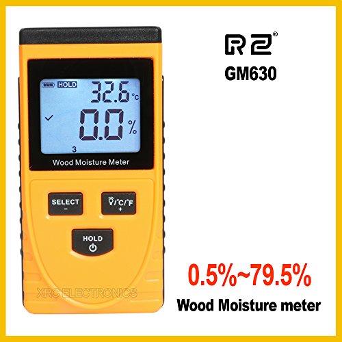 Induktion Holzfeuchte-Messgerät digitaler elektronischer Hygrometer gemessen Umgebungstemperatur Testwerkzeug GM630