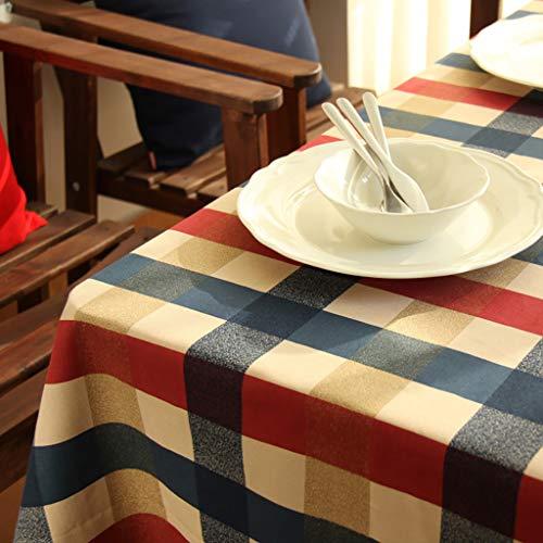 mantel cuadros escoceses fabricante Tablecloth