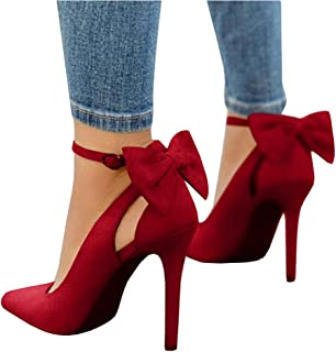 3dbb8fa2a70 Amazon.com: 10.5 - Red / Pumps / Shoes: Clothing, Shoes & Jewelry