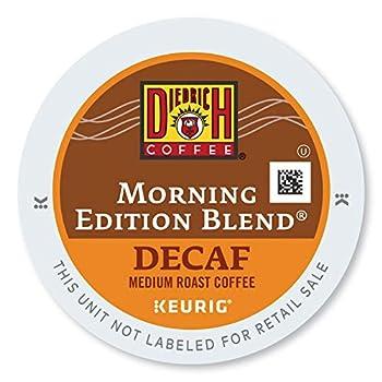 Diedrich Coffee Morning Edition Blend Decaf Keurig K-Cups 24-Count