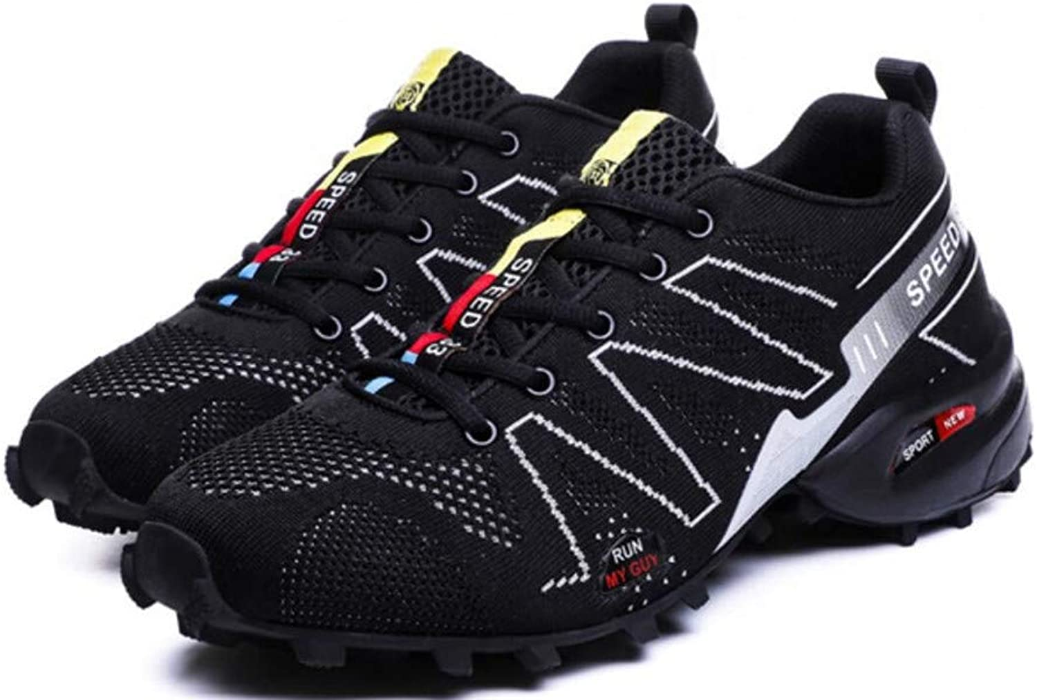 LUCKY-U Men Hiking shoes,Shockproof Non-Slip Outdoor Breathable Low Snow Leather Hiking Walking shoes
