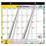 2020-2021 Magnetic Fridge Calendar Refrigerator by StriveZen, Monthly April 2020 -December 2021, Strong Magnets for Refrigerator, 10x10 Inch, Academic, Teacher Busy Mom Home-Office, Pattern Style