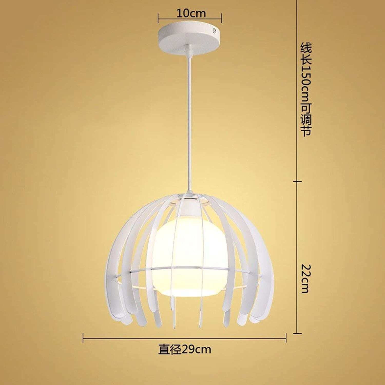 ZYY  Suspension Lustre Vintage Shabby Le Restaurant Industries Créatives Bar Lounge Chambre Lampes, Led Blanc 9W 29  22Cm