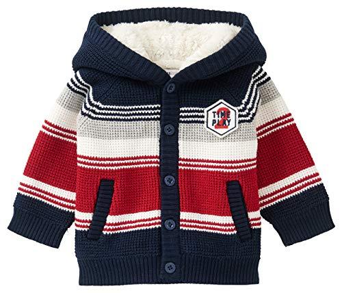 Noppies Baby-Jungen B Cardigan LS Sebokeng Strickjacke, Peacoat-P590, 50