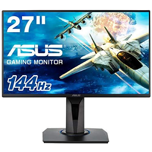 ASUS ゲーミングモニター 27インチ VG278Q (1ms/144HZ/HDMI/DP/DVI/スリムベゼル/G-SYNC™対応/FreeSync対応...