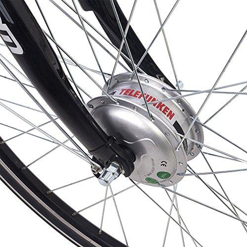 Damen E-Bike, leichtes Alu 7-Gang Pedelec Citybike Bild 4*