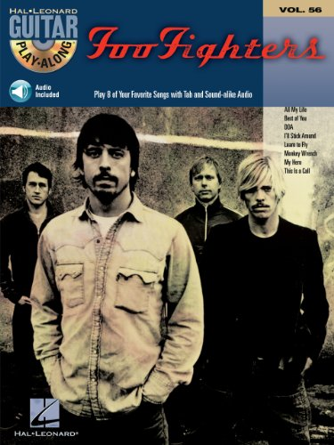 Foo Fighters Songbook: Guitar Play-Along Volume 56 (Play Along) (English Edition)