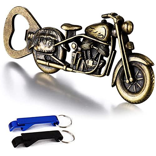 WZLEMOM Geschenke für Männer - Vintage Motorrad Flaschenöffner,Bier Flaschenöffner,Metall Motorrad Flaschenöffner für Bar Party ,Küchenhelfer,Einzigartiges Biergeschenk für Männer, Papa, Ehemann