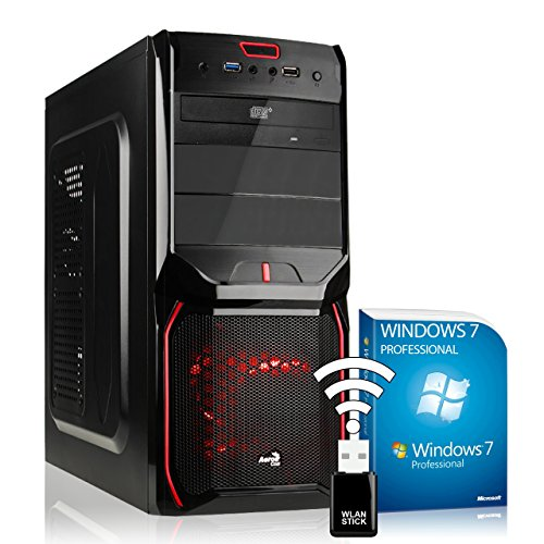 AGANDO Silent Gaming PC multicolor AMD R7 360 2GB AMD A10-7850K