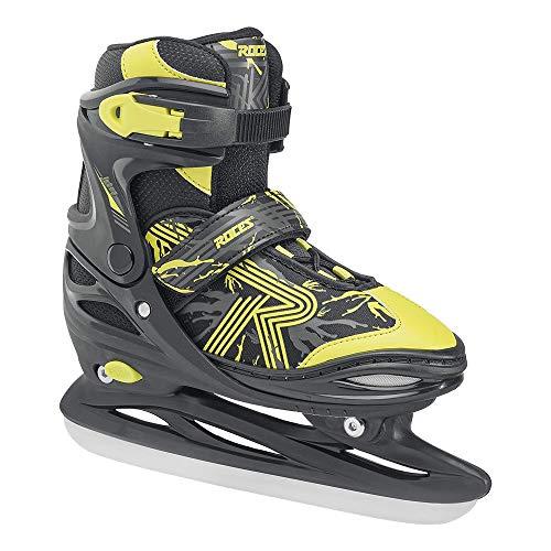 Roces Boys' Jokey ICE 3.0 Skates, Black-Lime, 8.5-10.5