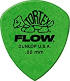 Jim Dunlop - Tortex Flow Standard Confezione da 12 .88 mm Green