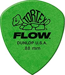 Tortex flow picks combine the bright snap of Tortex picks with the geometry of flow picks Features a wide angle to focus your attack and a sharp tip for superior precision and articulation Available gauges (mm): . 50, . 60, . 73, . 88, 1. 0, 1. 14, 1...