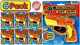 JA-RU Cap Gun Super Bang Hot Shots (6 Units Bulk) Quality Plastic Great Bang Party Favors Supplies for Kids. 929-6p