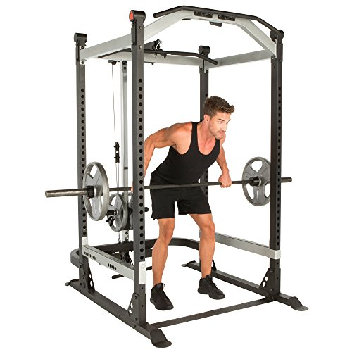 Product Image 3: Fitness Reality X-Class Light Commercial High Capacity Olympic Power Cage