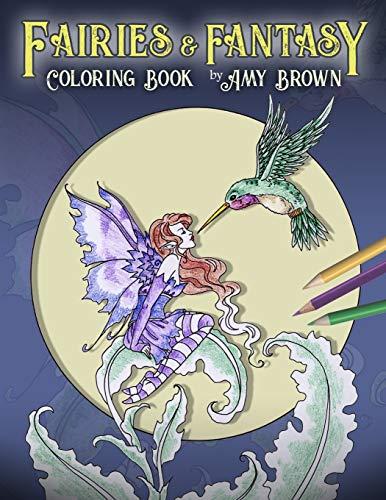 Fairies & Fantasy Coloring Book