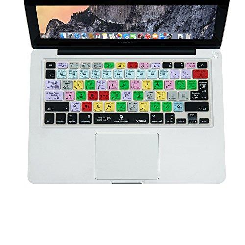 XSKN Adobe Photoshop PS CC atajos de teclado teclado piel cubierta para 13