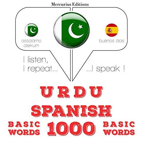 Urdu – Spanish. 1000 basic words cover art