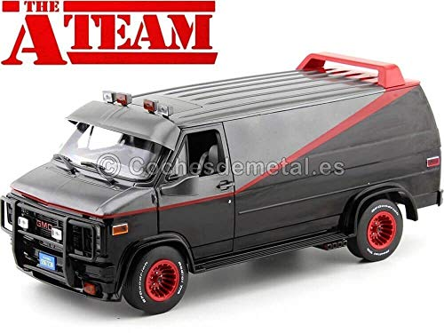 Greenlight 1983 GMC Vandura Cargo Van A-Team Equipo-A 1:18 13521