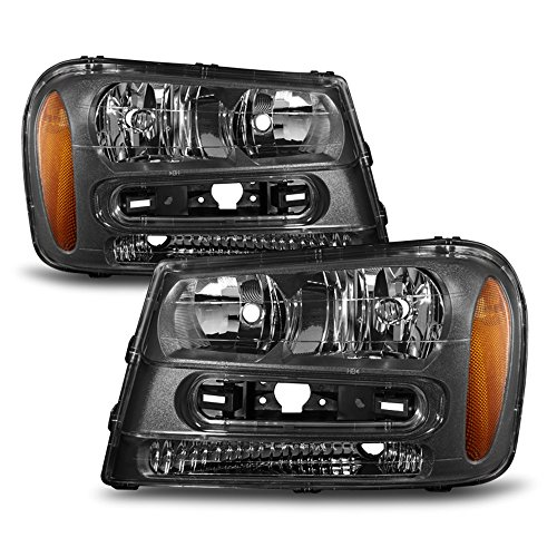 04 trailblazer headlight assembly - 8