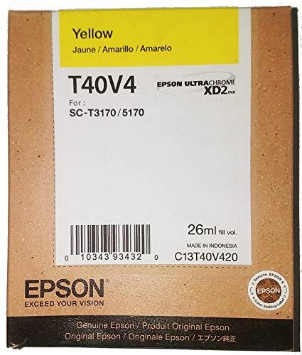 Epson Cartucho de Tinta Color Amarillo para T3170, T40V420