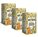Heath & Heather Organic Manzanilla Saborada Manuka Miel Naturalmente Sin Cafeína — 3 x 20 Bolsas de Té (90 gramos)