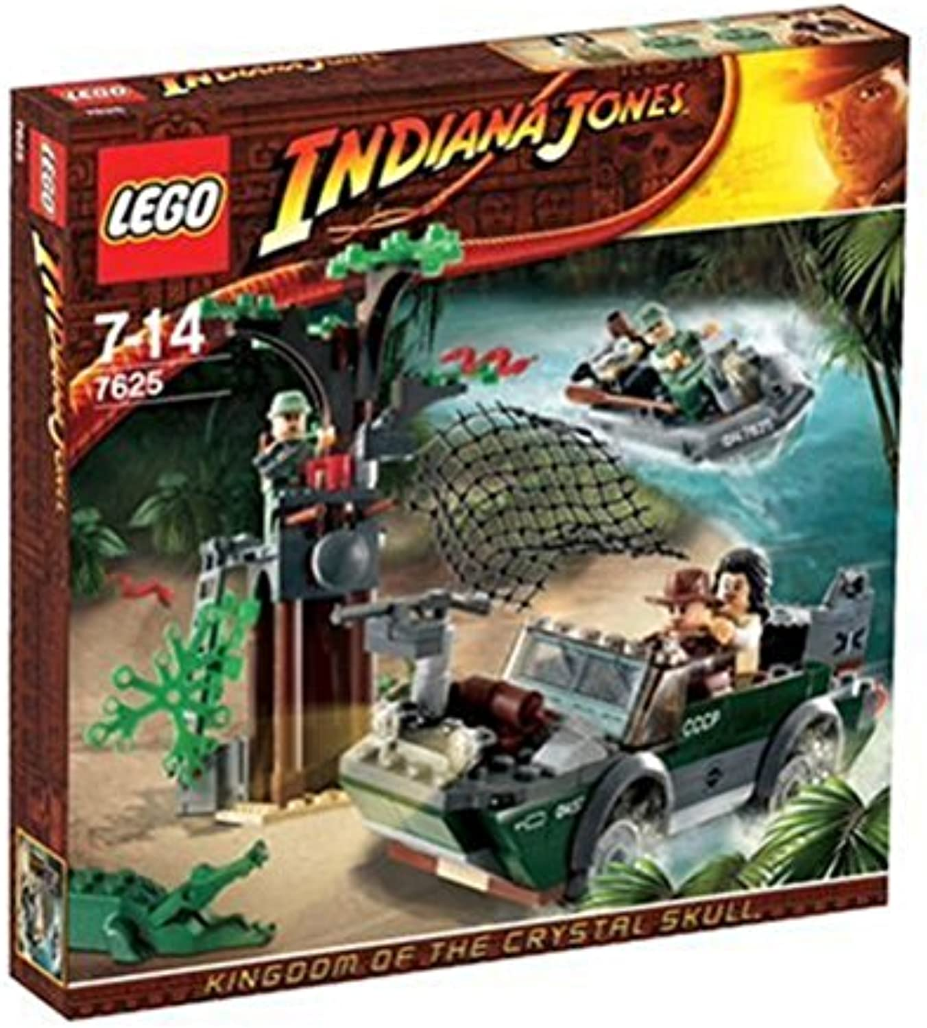 LEGO Indiana Jones 7625 - Verfolgungsjagd am Fluss