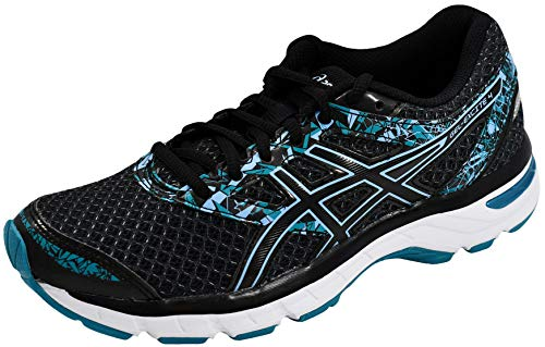 ASICS Women's Gel-Excite 4 Running Shoe, Black, 7.5 M US