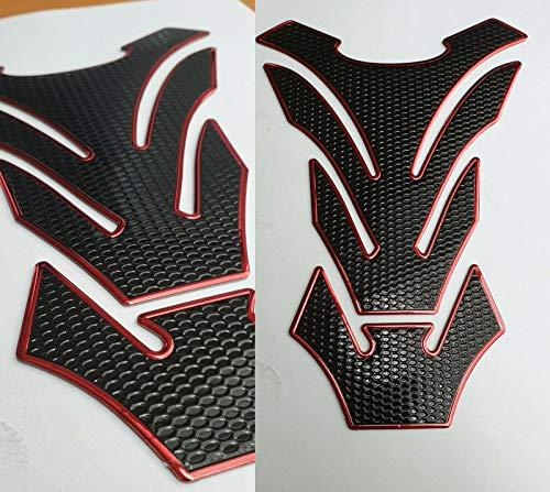 Tankpad Moto Palme Rojo