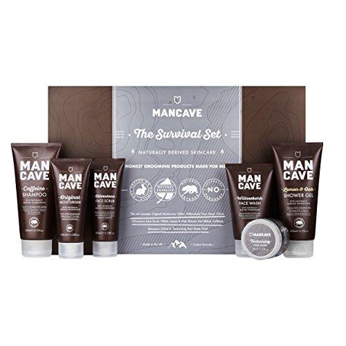 ManCave The Survival Geschenkset, 1er Pack (1 x 6 Stück)