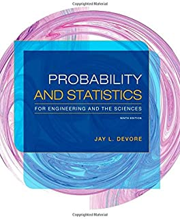 The Probability and Statistics for Engineering and the Sciences