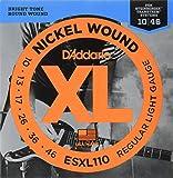 D'Addario ESXL110 Juego de Cuerdas, Plateado