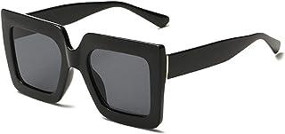 FJCY - Gafas de Sol de Ojo de Gato para Adultos Gafas de Sol Retro Vintage para Hombre Gafas de Sol de conducción de Viaje de Moda Acrílico Informal Uv400-Bj5195-C8
