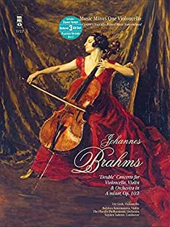 Brahms - Double Concerto for Violoncello, Violin & Orchestra in A minor, Op. 102: Music Minus One Cello Deluxe 3-CD Set