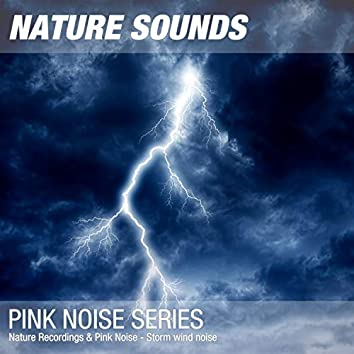 Nature Recordings & Pink Noise - Storm wind noise