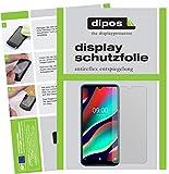 dipos I 2X Schutzfolie matt kompatibel mit Wiko View 3 Pro Folie Bildschirmschutzfolie (bewusst Kleiner als das Glas, da Dieses gewölbt ist)