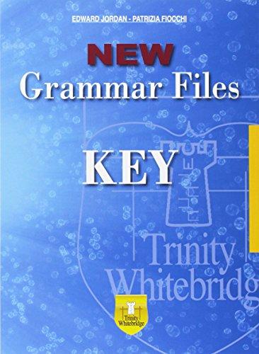 New grammar files. Key [Lingua inglese]