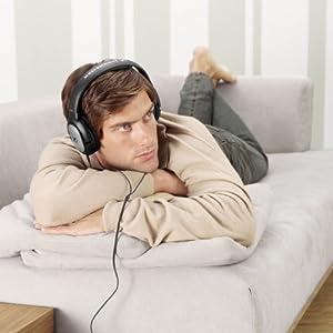 Sennheiser HD-201 Lightweight Over Ear Headphones (Discontinued by Manufacturer)