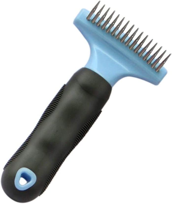 Zjyfyfyf Pet Dog Complete Free Shipping Rake Grooming Loo Removes Brush Tool Deshedding Max 69% OFF