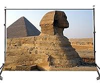 Lyly郡( 10x 7ftポリエステルエジプト古代建築写真の背景幕フォトスタジオ小道具Sphinx背景部屋Mural 107–137